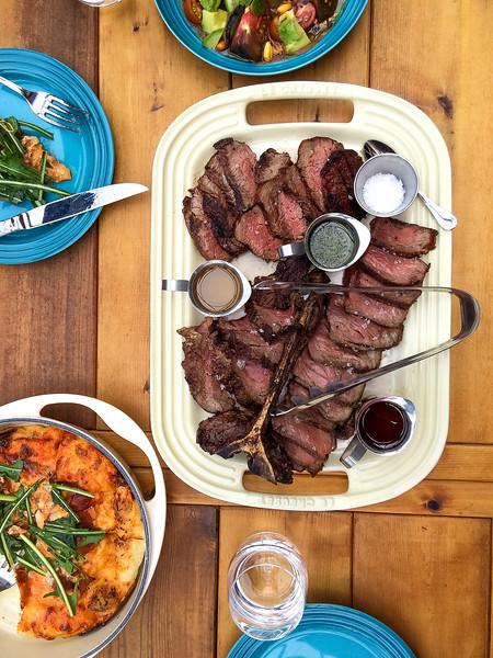 charbar fugazza and ceviche and meat.jpg
