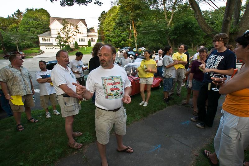 Gould's MicroCar Event, Newton, Mass. 08.07.13