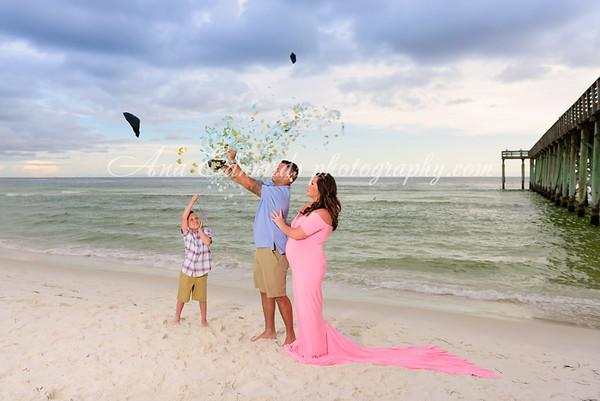 The Amdal family  |  Panama City Beach