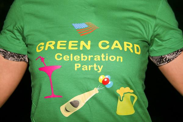 Gabriela's green card celebration - April 17, 2010