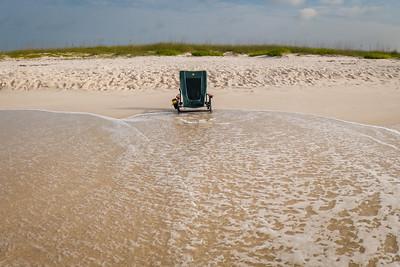 Solitary on Johnson Beach