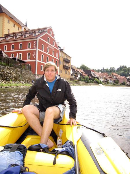 Floating the Vltava river