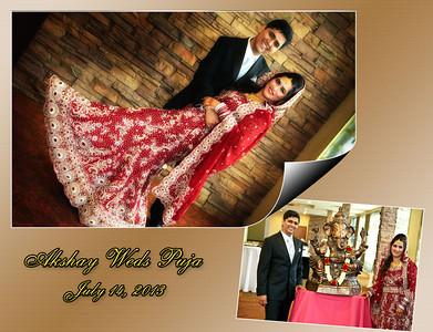 Puja & Akshay Album