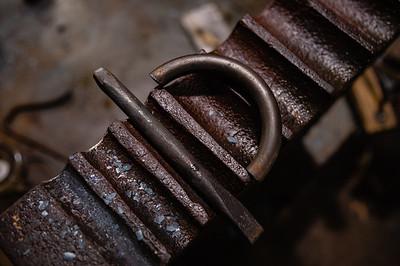 LaGrange Engine Club hosts blacksmithing class