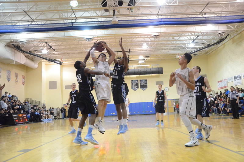Varsity Boys Basketball Feb 3 vs C Milton Wright