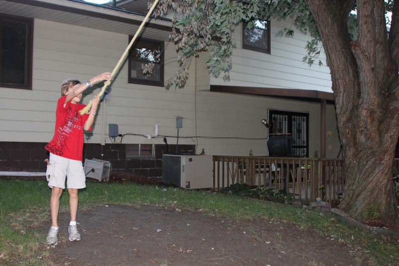 2010 Sept Wil Backyard