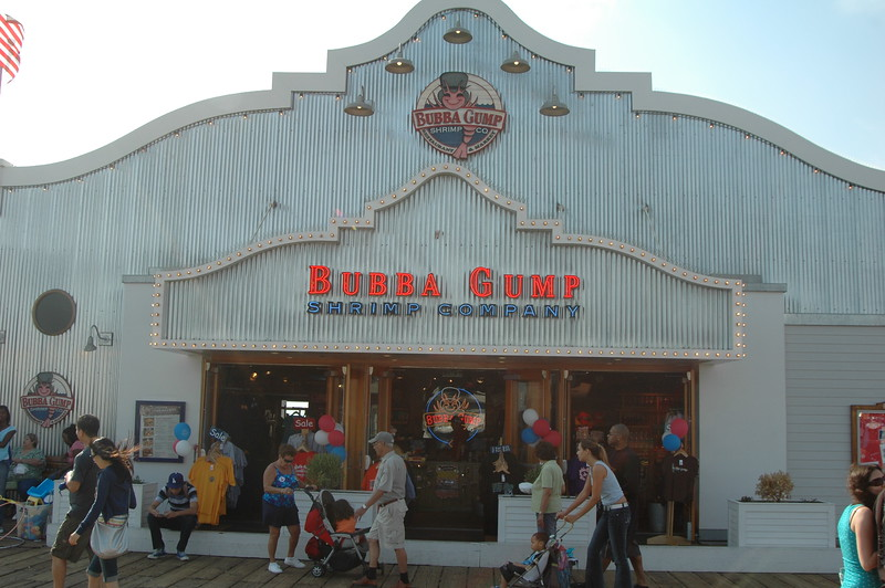 Bubba Gump at Santa Monica Pier