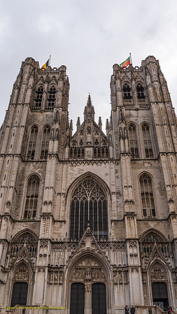 Brussels - Cathedral of St. Michael & St. Gudula