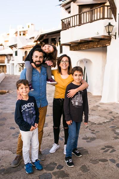 Familia | Patri, Fran, Izan, Joel & Èlia