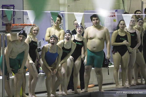 Swimming Senior Sendoff 10-20-2017