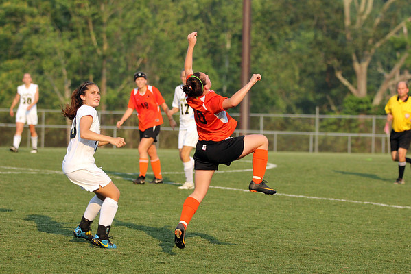 CHS girls fall in Region II play 2011