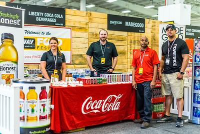 Coca Cola & Honest Tea at Fairway Food Festival