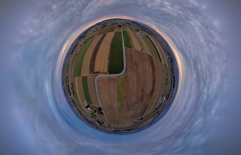 1545 - Tiny Planet - Scenic Road Skypano