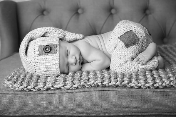 Aiden-New Born Photo Shoot