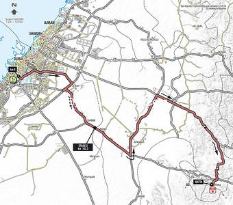 Tour of Dubai Stage 3: World Trade Center > Hatta, 162kms