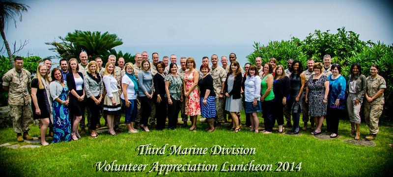 3D Mar Div Volunteer lunch 2014