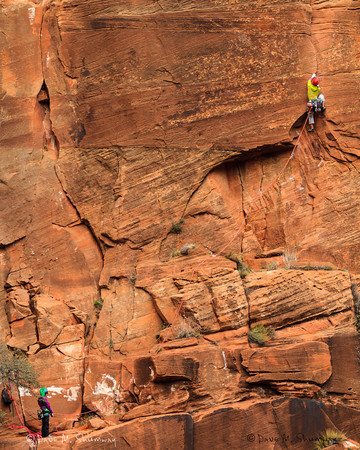 Climbing Zion - UT