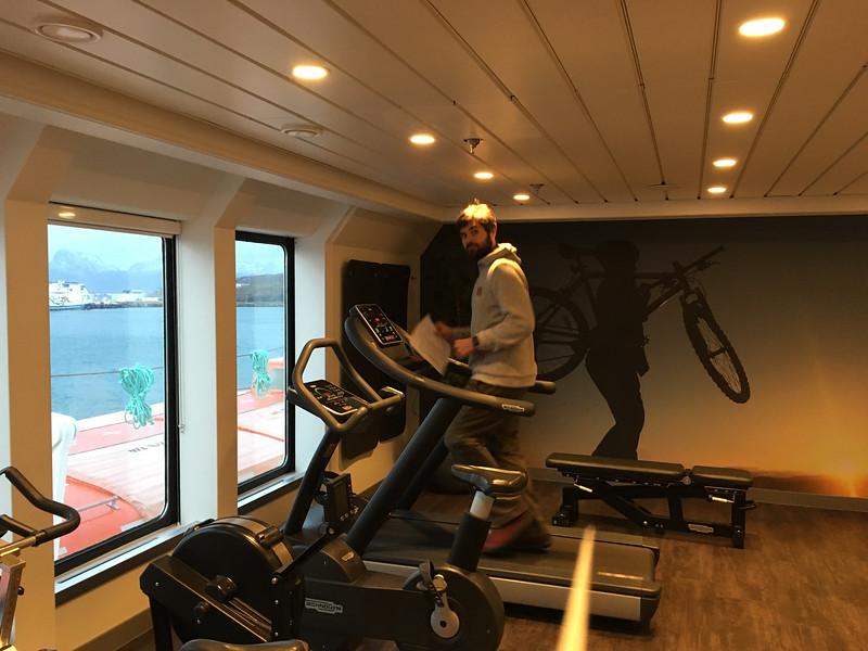 Exploring the Cruise Ship