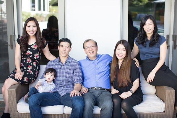Candace Wang Family