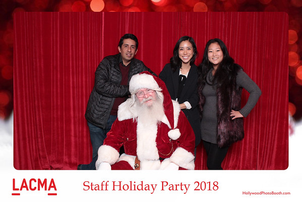 LACMA Staff Holiday Party 2018 - 12-12-2018
