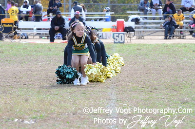 10-20-2012 Montgomery Village Sports Association Cheerleading, Photos by Jeffrey Vogt Photography