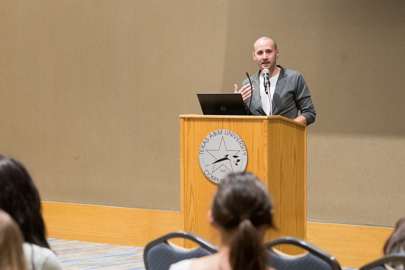 """Dr. Anthony Squiers, Associate Professor of Government at Tarrant County College. Gives a presentation on his new book, """"The Politics of the Sacred in America: The Role of Civil Religion in Political Practice""""."""