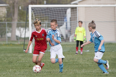 U11 Blue Knights VS Arsenal 2017