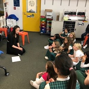 Fourth Grade Game Design Visit | November 12, 2019