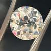 3.46ct Old European Cut Diamond GIA M, VS1 34