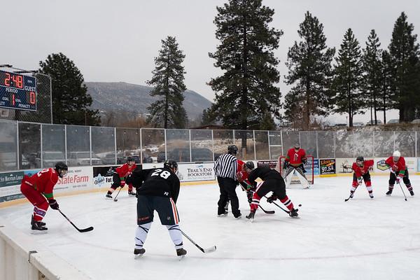 Game 2 AM Hockey Club vs Omak Red