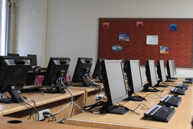 8 New computers in computer lab.JPG