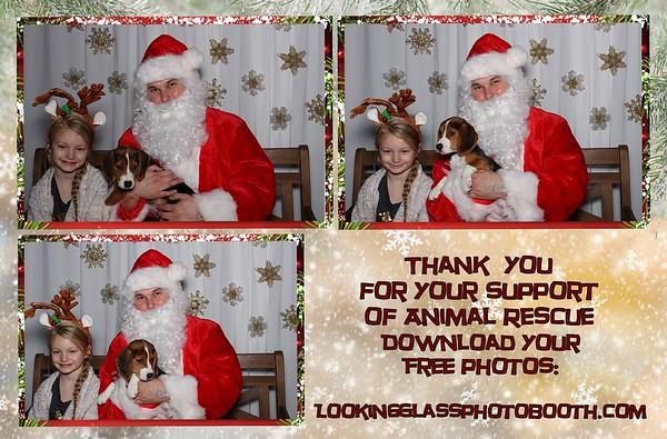 Pet Photos With Santa at Preuss Pets