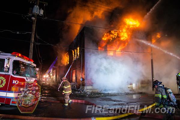Schuylkill County - Shenandoah Borough - Building Fire - 01/17/2020