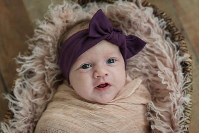 First months: Lily James Beckett April 2019