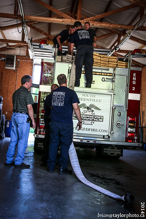 A day with South Greenville Fire Department