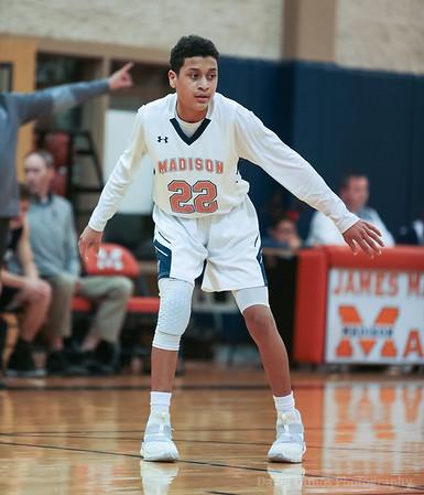 Madison FrA Basketball vs Central Catholic 122118