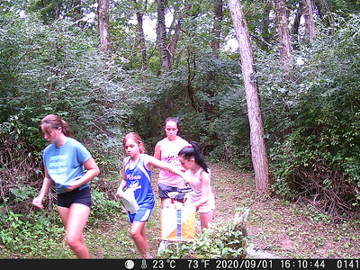 UCMS Cross Country Team Orienteering - Sept 1
