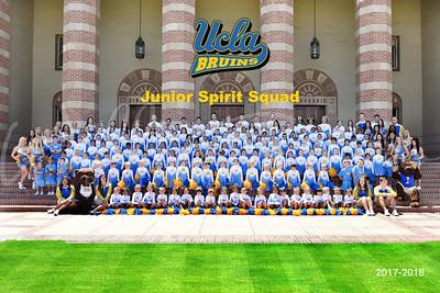 UCLA Jr. Spirit Squad Team Photo