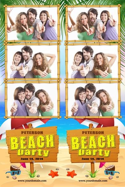 Beach Bash Strips