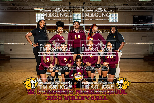 2020 W.G. Sanders Middle School Volleyball