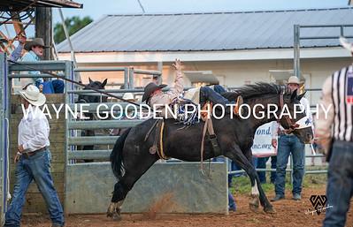 Chad Rutherford Bareback Bronc Rider