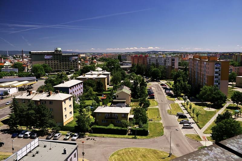 Pohled z Hotelového domu na Nové sady