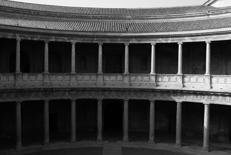 Circle in La Alhambra, Granada