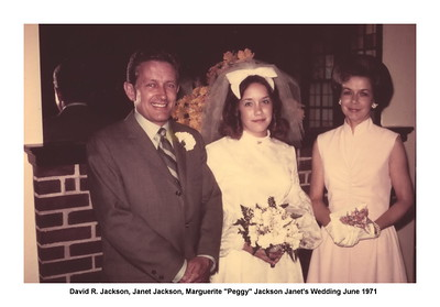 Jan Jackson and Jim Gordon Wedding