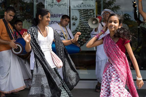 Krishna dancers Fiji