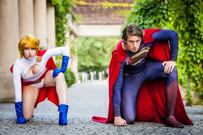 Superman & Power Girl