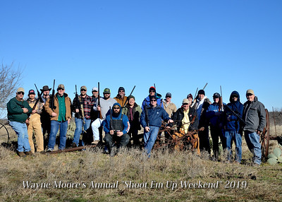 "Wayne Moore's Annual ""Shoot Em UP Weekend"" 2019"