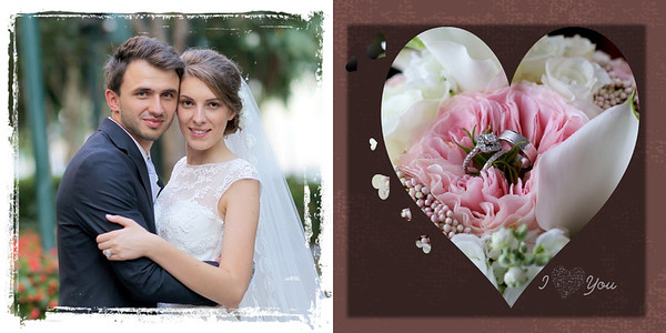 WEDDING ALBUM   - Yuriy & Julie