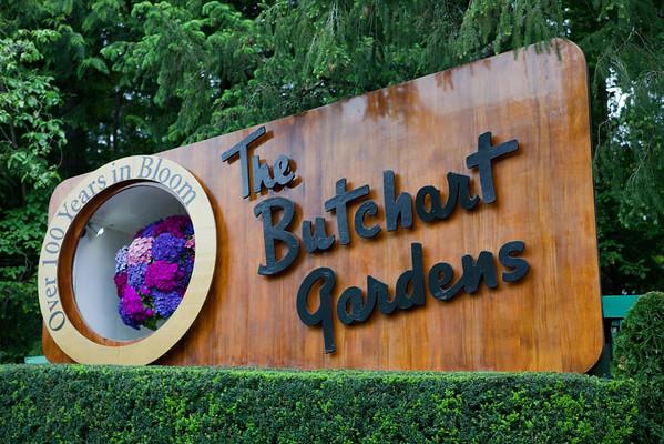 Butchart Gardens, Vancouver, B.C.