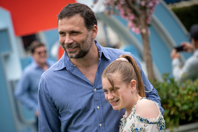 WESTWOOD, CALIFORNIA - JUNE 02: Jeremy Sisto and daughter attend the Premiere of Universal Pictures' 'The Secret Life Of Pets 2' at Regency Village Theatre on Sunday, June 02, 2019 in Westwood, California. (Photo by Tom Sorensen/Moovieboy Pictures)